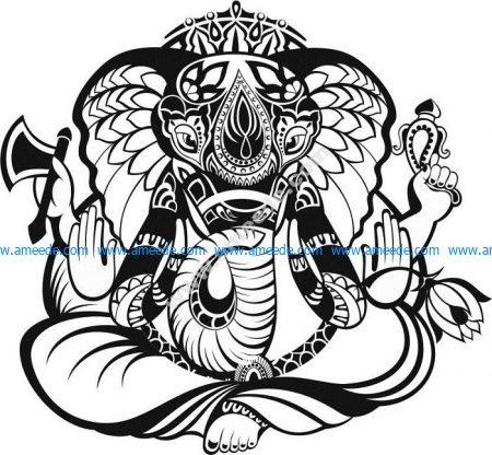 Indian god Ganesha – Amee House