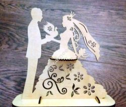 Wedding Napkin Holder