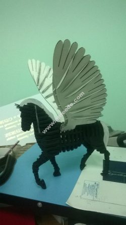 Winged Horse 3D Puzzle