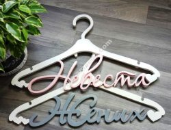 beautiful clothes hangers
