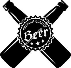 crowded beer shop icon