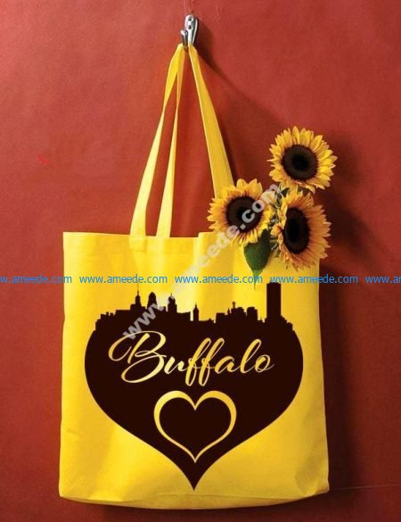 print pictures on bags that love the world