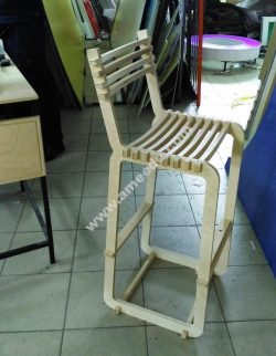 recliner chair from many pieces