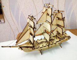 ship assembly model
