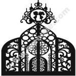 Arabian style wedding gate