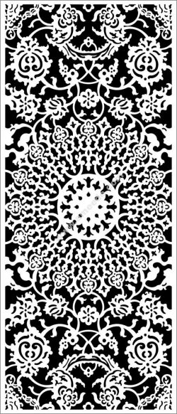 Arabic style floral motifs
