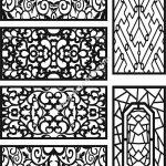 CNC cutting partition pattern
