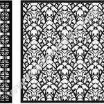 CNC partition pattern