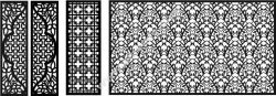 CNC partition pattern