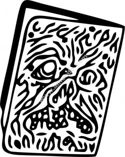 Devil book vector