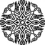 Islamic circle design