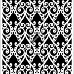 Moroccan decorative pattern