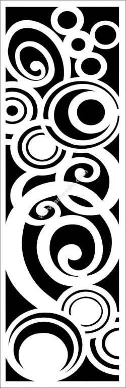 Spiral cutting motifs