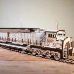 Train assembly model