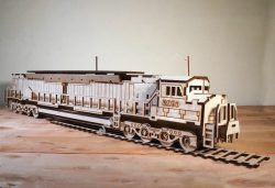 Train assembly model