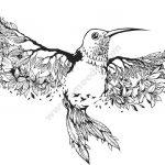 art bird floral