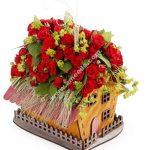 basket shaped house