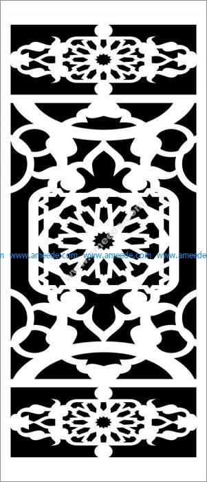cnc cutting decorative screen
