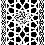 decorative cnc partition