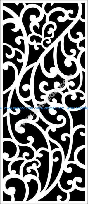 decorative partition vector