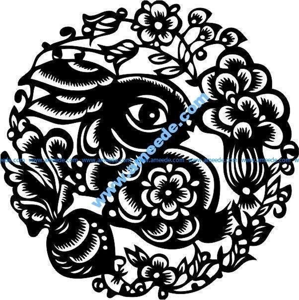 floral rabit