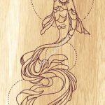 laser cut fish