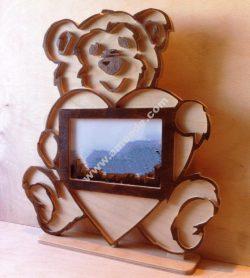 Bear photo flame