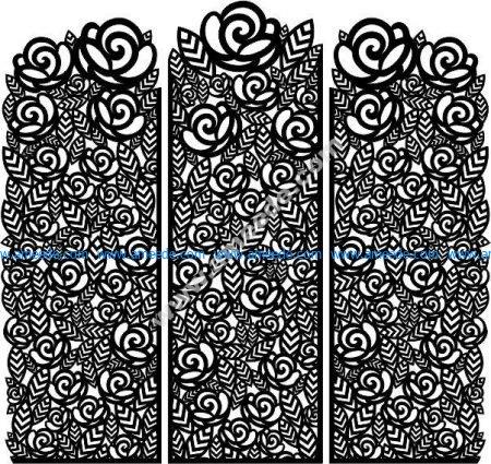 rose paravan patterns