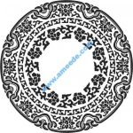 round floral ornament