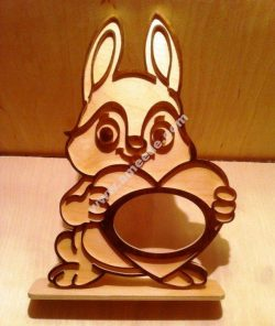 Rabbit photo flame