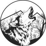 wolf round