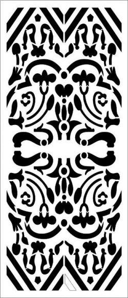 symmetrical pattern partition