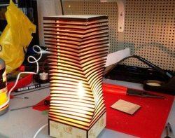 3d night lamp impressive hallucinations