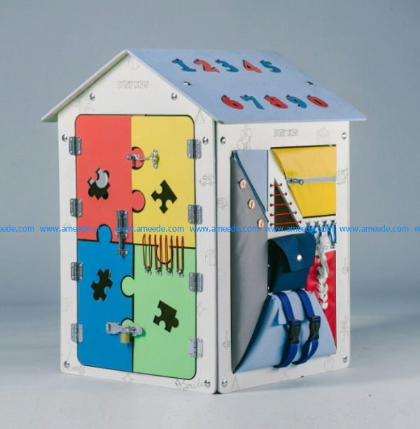 Math toy house for kids