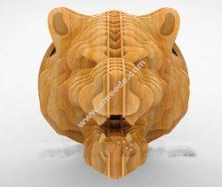 Siberian Tiger head