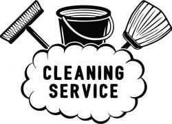 Banner of cleaning service company