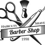Barber shop hair cut shaves