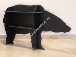 Bear Storage Shelf Rack CNC Template
