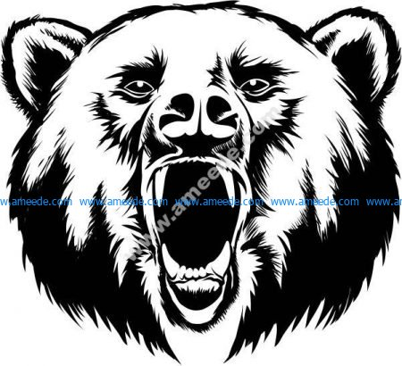 Bear season vector
