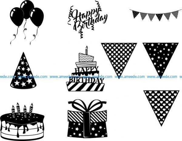 Birthday theme is always taken as design ideas