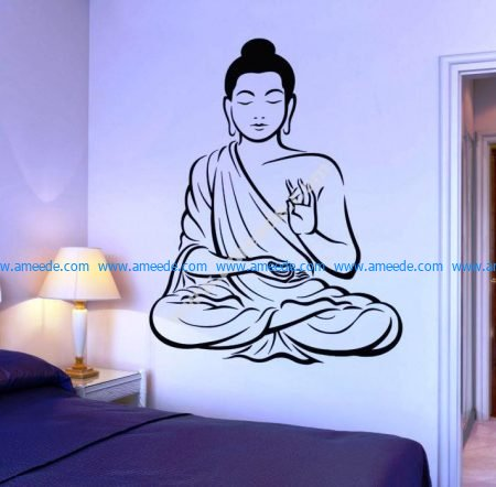 Buddha image in the bedroom