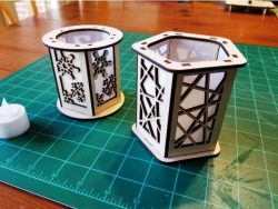 Candle Holder Lantern Snowflake