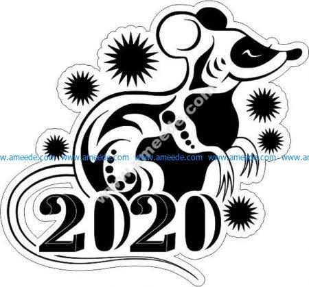 Chinese zodiac 2020