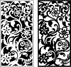 Chrysanthemum vines pattern design