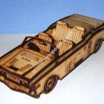 Convertible Car 3D Template
