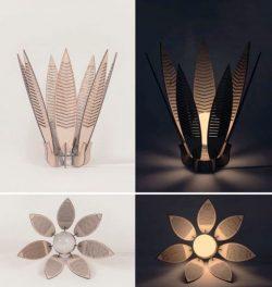Decorative Flower Lamp Shade