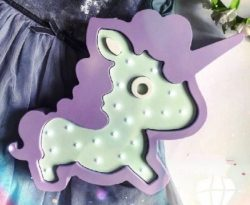 Decorative lights unicorn