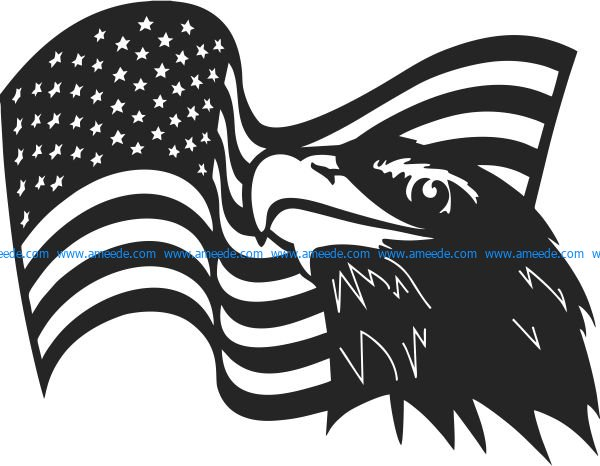 Eagle symbol of the united states of america