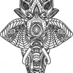 Elefante Mandala with lotus