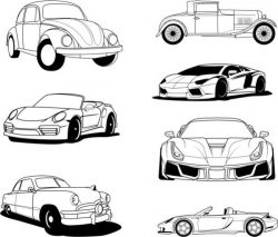 Famous design collection of popular cars